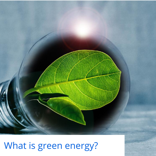 What is green energy_
